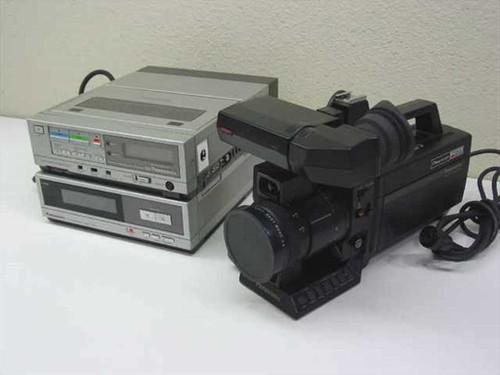 Panasonic PK-958  Newvicon Omnipro Color Video Camera, Recorder and