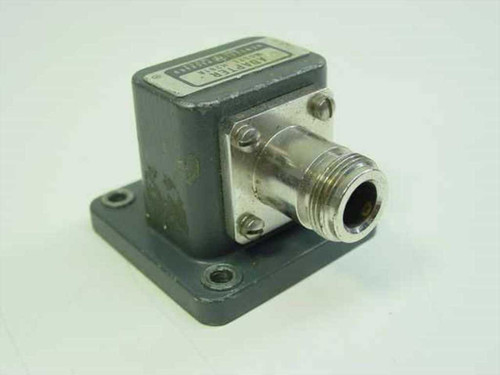 HP H281A  Coaxial Waveguide Adapter N-F to WR112 Flange