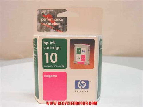 HP HP ink cartridge 10 magenta (C4843A)