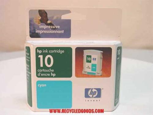 HP HP ink cartridge 10 cyan (C4841A)