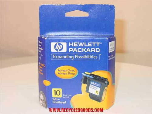 HP Ink 10 yellow for 2000c / 2500c Printer (C4803A)