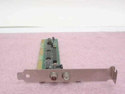 Future Domain IDE-16010  Floppy Drive Controller w/composite audio connecti