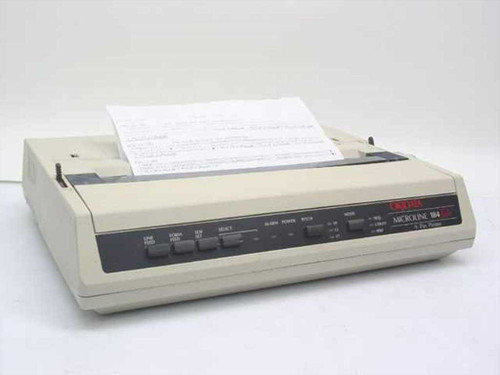 Okidata ML 184Turbo  9-pin Dot Matrix Printer GE5256K