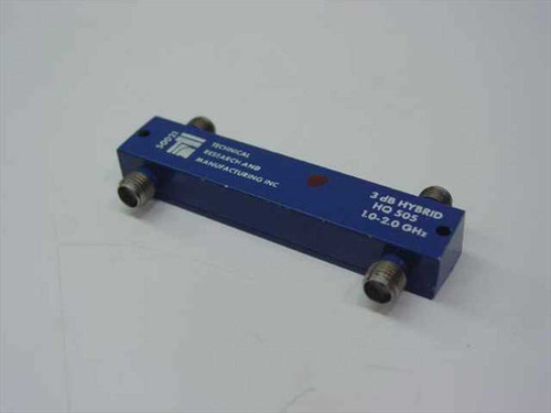 Technical Research 50021  3dB Hybrid HQ 505 1.0-2.0GHz Coupler