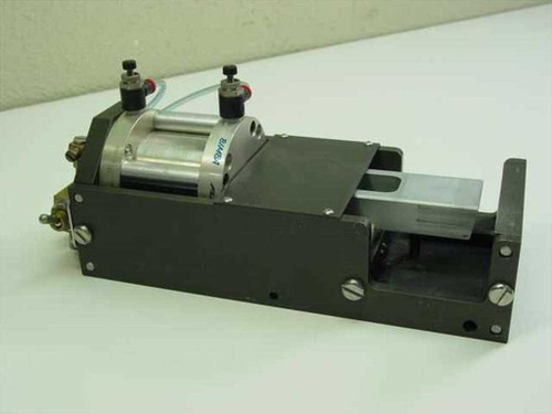 Aluminum 4x11x5  Fixture with Pneumatic Cylinder and Control Valves