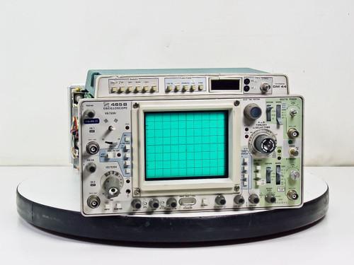 Tektronix 465B 2-Channel Oscilloscope w/ DM44 Digital Multimeter