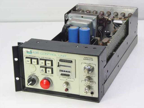 MTS Analog Control Unit Function Generator / Pressure 436.11