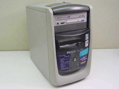 HP Pavilion 6545C  Celeron 500MHz, 191mb, 13GB, CD-RW Desktop Compute