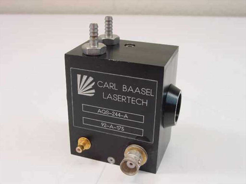Carl Baasel Lasertech AQS-244-A  Q Switch 24 MHz 4mm Aperture
