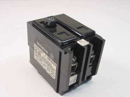 Westinghouse QNBAL2060  KL-859 2 Pole 60 Amp Circuit Breaker