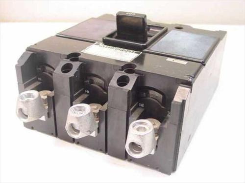 Westinghouse Type-J 225 Amp Frame  AB-D ION 3 Pole 200 Amp at 25 C - 600 V AC Circuit