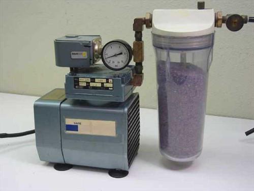 Gast DOA-133  Compressor with Manual Regeneration Air Dryer - De