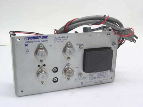 Power One HD24-4.8 -A  24VDC Power Supply 4.8A