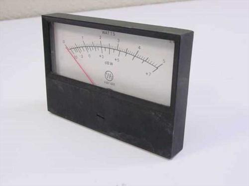 Varian None  Watts Meter Range 0-5
