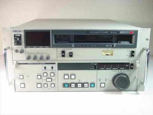 Sony BVW-65  Betacam SP Videocassette Player
