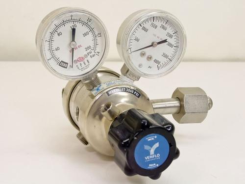 Veriflo DSG752-S7P2404  Stainless Steel High Pressure Regulator