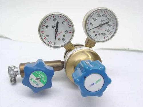 Linde UPE 3 150 580  Brass High Gas Regulator