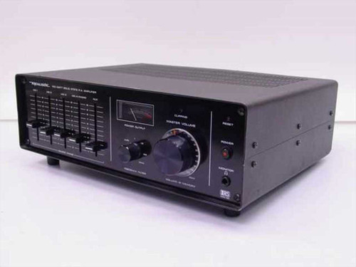 Realistic MPA-90  100 Watt Public Address Amplifier - 32-2024