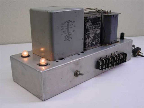 Generic N /A  Power supply with a Choke (Drossel, Inductor) for