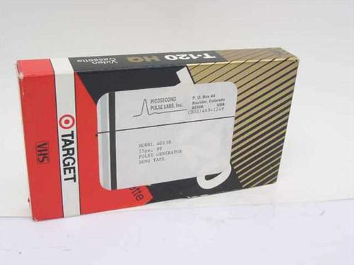 Picosecond Pulse Labs Model 4015B  9V Pulse Generator Demo Videotape