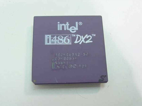 Intel 486/50Mhz A80486DX2-50 SX641
