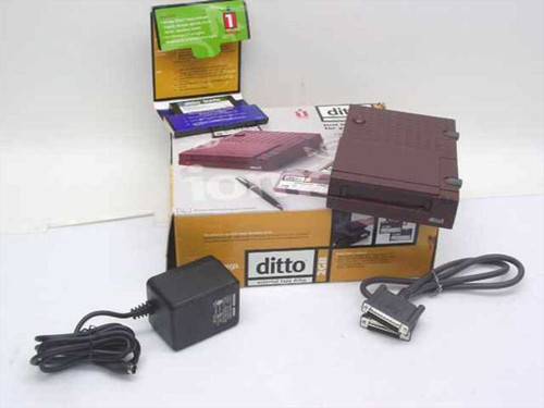 Iomega 102000-PX  Ditto 2GB External Tape Drive
