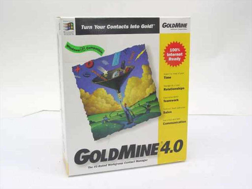 GoldMine 4.0  Standard Edition for Windows '95 and '98