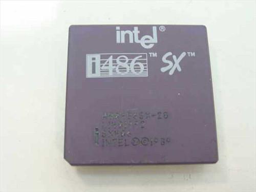 Intel 486SX/20MHz Processor A80486SX-20 SX406
