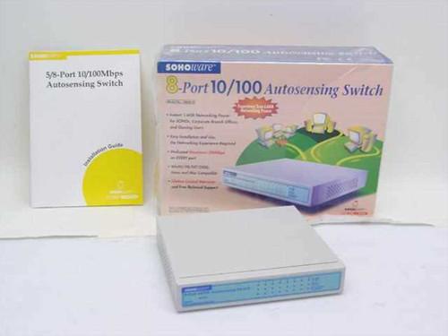 Sohoware NSH810  8-Port 10/100 Autosensing Switch