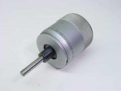 "NL 152-372 Type  Micrometer Head 0-1""/0.0001"" No PN No Mfg"