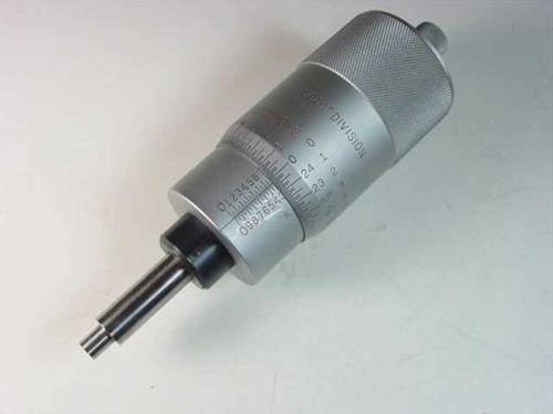 """Starrett T468  Micrometer head 2""""/0.0001"""""""