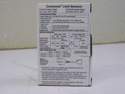 Compact Air Products WSK  Comtronic Limit Sensor