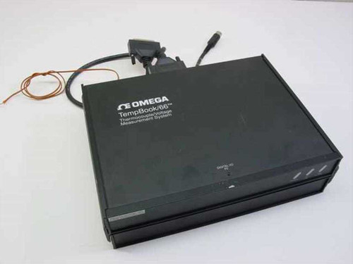 Omega TempBook/66  Thermocouple/Voltage Measurement System w/DBK30A B