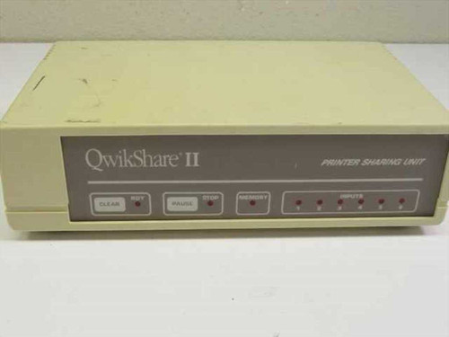 Lasernet Qwik Share II  Printer Sharing Unit - 256kb - Vintage