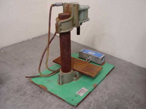 """Air-Mite Device Inc. DAP 19  Air Arbor Punch Press (stroke 1.5"""" )"""