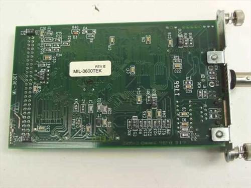 Tektronix Phaser Share Ethernet Card 10BASE2/T MIL-3600TEK
