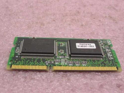 COMPAQ 314024-002  Sodimm Video 2MB MEMORY MODULE
