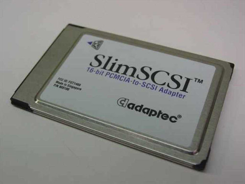 Adaptec 900100  Slim SCSI 16 bit PCMCIA-to-SCSI Adapter- No Cable