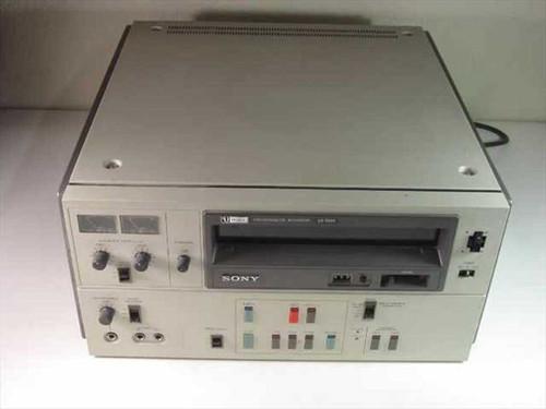 Sony VO-5600  U-Matic Videocassette Recorder (No Audio)