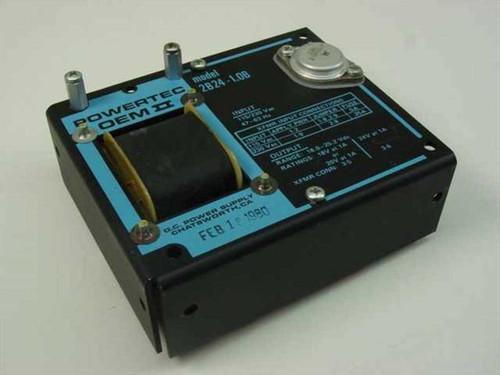 Powertec OEM II 2B24-1.0B  D.C. Power Supply
