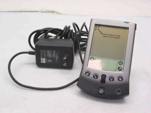 Palm V  PDA with dock and power adapter