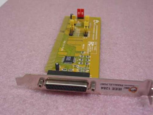SIIG ISA Parallel Port IEEE DB25 Hi IRQ 2MB/S Card (JJ-A01E12)