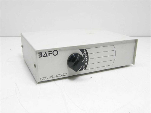 BAFO 8740-25S  25 Pin 4 way Data Transfer Switch