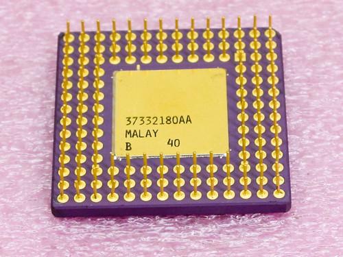 Intel A80386-25  386 25Mhz Processor