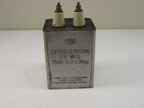 Tobe CP70D1ER504K  High Voltage Capacitor 0.5