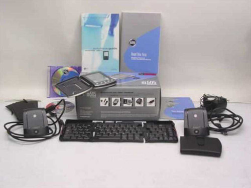 Palm m505  Handheld PDA with Accessories