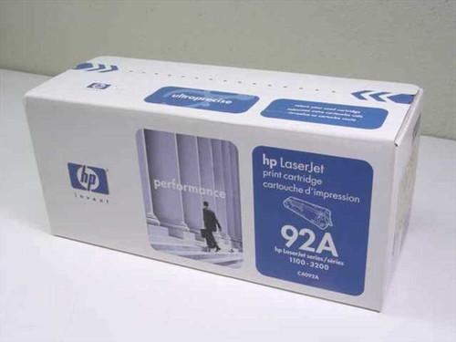 HP C4092A  LaserJet Print Cartridge 92A