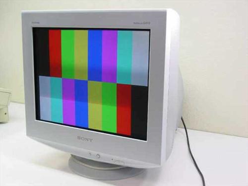 "Sony CPD-G410R  19"" Trinitron Color Display"