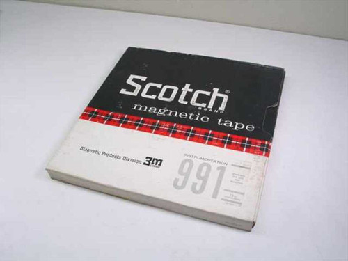 Scotch  991  Magnetic Tape - Instrumentation