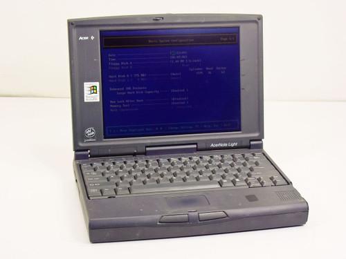 Acer 350PC  Acer Note Light P120 MHz Vintage Laptop
